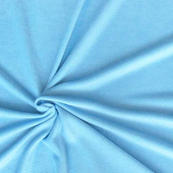 polar fleece stoffe fleecestoff hellblau stoffe zubeh r stoffe stoffe uni fleece. Black Bedroom Furniture Sets. Home Design Ideas