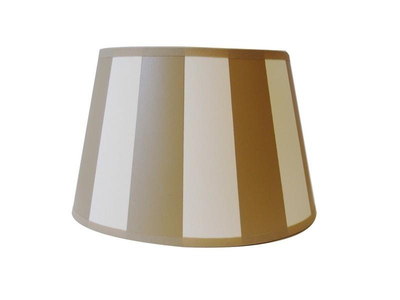 lampenschirm king gestreift gold ecru wohnen wohnaccessoires lampen lampenschirme. Black Bedroom Furniture Sets. Home Design Ideas