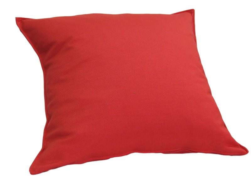 vom hof kissen dekokissen mit f llung milano 50x50 kaminrot wohntextilien kissen klassisch uni. Black Bedroom Furniture Sets. Home Design Ideas