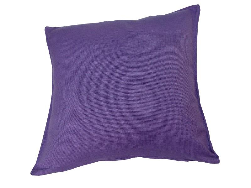 vom hof kissen dekokissen mit f llung milano 60x60 lila wohntextilien kissen klassisch uni. Black Bedroom Furniture Sets. Home Design Ideas